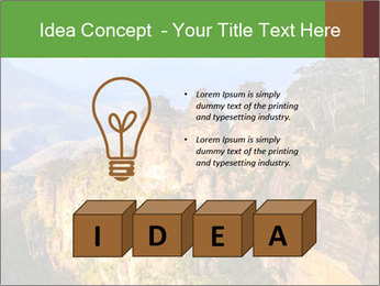 Three sister rock PowerPoint Templates - Slide 80