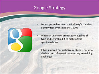 Close up of quarry extracting iron PowerPoint Templates - Slide 10