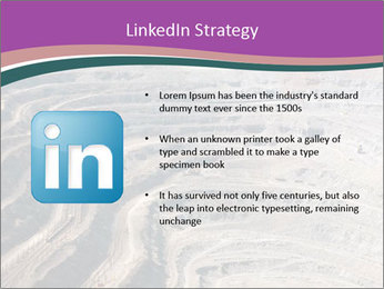 Close up of quarry extracting iron PowerPoint Templates - Slide 12