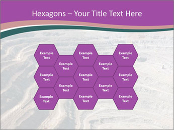 Close up of quarry extracting iron PowerPoint Templates - Slide 44