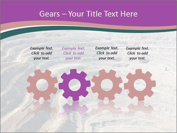 Close up of quarry extracting iron PowerPoint Templates - Slide 48