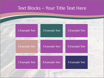 Close up of quarry extracting iron PowerPoint Templates - Slide 68