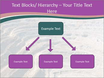 Close up of quarry extracting iron PowerPoint Templates - Slide 69
