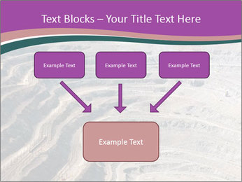 Close up of quarry extracting iron PowerPoint Templates - Slide 70