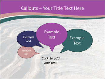 Close up of quarry extracting iron PowerPoint Templates - Slide 73