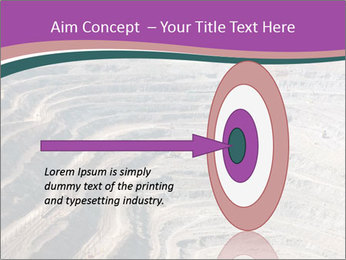 Close up of quarry extracting iron PowerPoint Templates - Slide 83