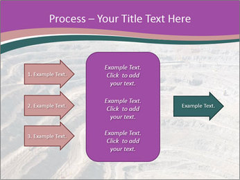 Close up of quarry extracting iron PowerPoint Templates - Slide 85