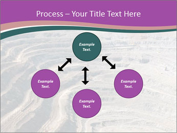 Close up of quarry extracting iron PowerPoint Templates - Slide 91