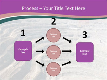 Close up of quarry extracting iron PowerPoint Templates - Slide 92
