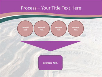 Close up of quarry extracting iron PowerPoint Templates - Slide 93