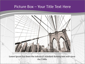 American flag on top PowerPoint Template - Slide 15