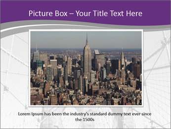 American flag on top PowerPoint Template - Slide 16