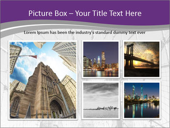 American flag on top PowerPoint Template - Slide 19