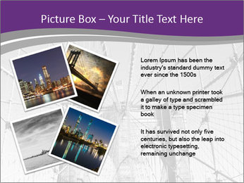 American flag on top PowerPoint Template - Slide 23