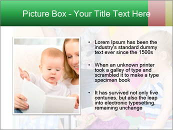 Children drawing PowerPoint Template - Slide 13
