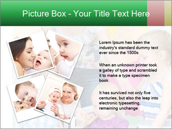 Children drawing PowerPoint Template - Slide 23