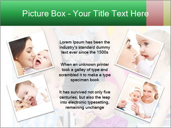 Children drawing PowerPoint Template - Slide 24