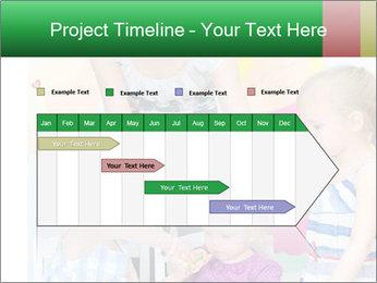 Children drawing PowerPoint Templates - Slide 25