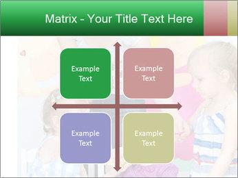 Children drawing PowerPoint Templates - Slide 37