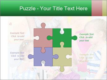 Children drawing PowerPoint Templates - Slide 43