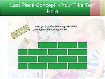 Children drawing PowerPoint Templates - Slide 46