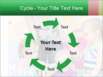 Children drawing PowerPoint Templates - Slide 62