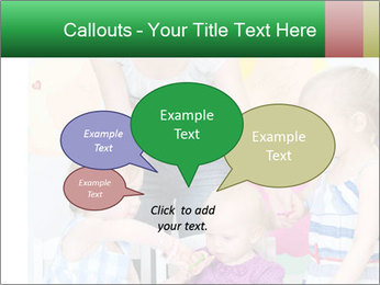 Children drawing PowerPoint Template - Slide 73