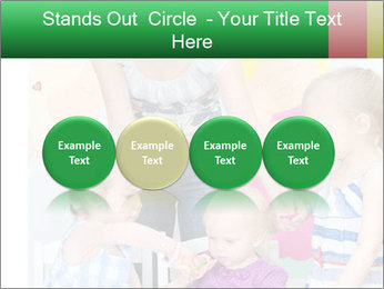 Children drawing PowerPoint Templates - Slide 76
