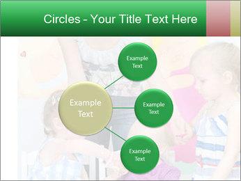 Children drawing PowerPoint Templates - Slide 79