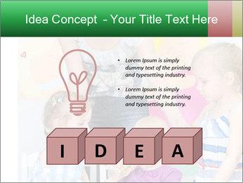 Children drawing PowerPoint Templates - Slide 80