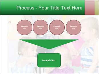 Children drawing PowerPoint Template - Slide 93