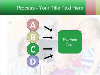 Children drawing PowerPoint Templates - Slide 94