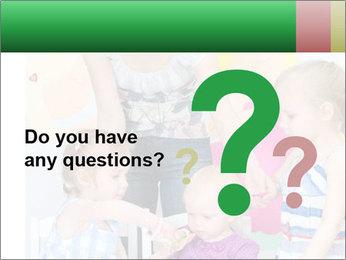 Children drawing PowerPoint Templates - Slide 96
