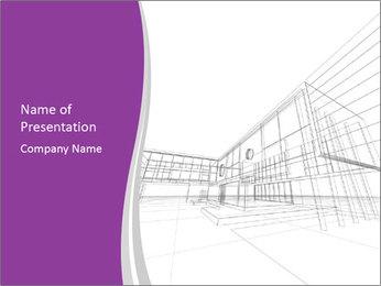 Design 3d model PowerPoint Template