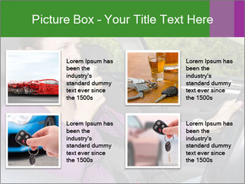 Woman in car PowerPoint Templates - Slide 14