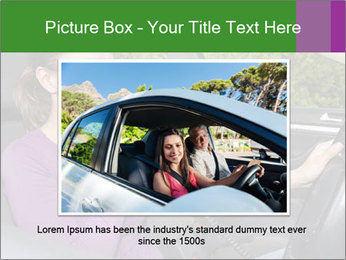 Woman in car PowerPoint Templates - Slide 15