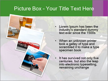 Woman in car PowerPoint Templates - Slide 17