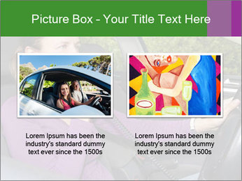 Woman in car PowerPoint Templates - Slide 18