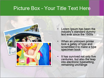 Woman in car PowerPoint Templates - Slide 20