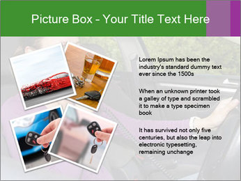 Woman in car PowerPoint Templates - Slide 23