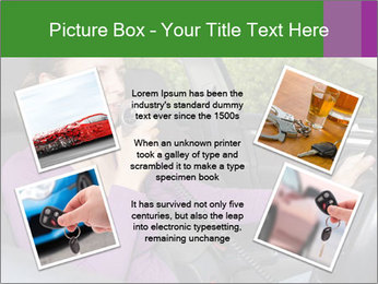 Woman in car PowerPoint Templates - Slide 24