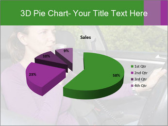 Woman in car PowerPoint Templates - Slide 35
