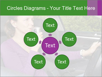 Woman in car PowerPoint Templates - Slide 78