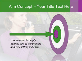 Woman in car PowerPoint Templates - Slide 83