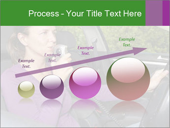 Woman in car PowerPoint Templates - Slide 87