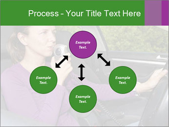 Woman in car PowerPoint Templates - Slide 91