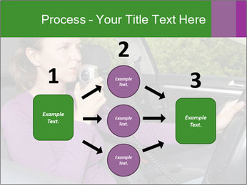 Woman in car PowerPoint Templates - Slide 92