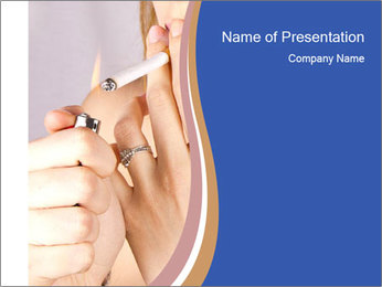 Smoking PowerPoint Templates - Slide 1