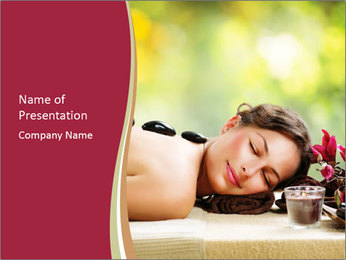 Spa Relaxation PowerPoint Templates - Slide 1