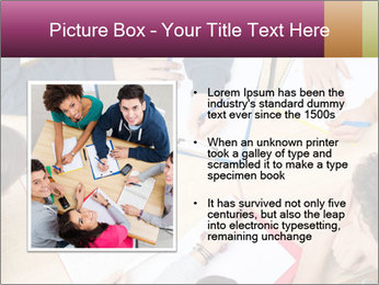 Students Make Notes PowerPoint Template - Slide 13